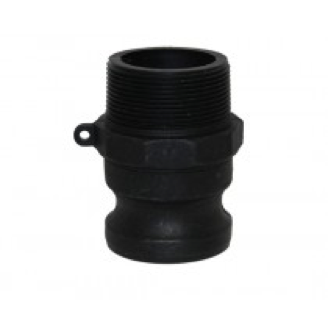 Type F (Adapter) - Cam and Groove Male Adapter x Male NPT Thread