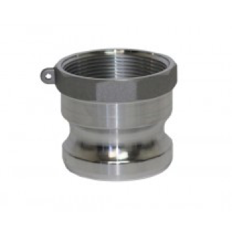 Type A (Adapter) - Cam and Groove Male Adapter x Female NPT Thread