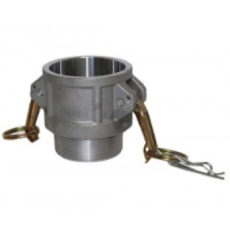 Type B (Coupler) - Cam and Groove Female coupler x Male NPT Thread