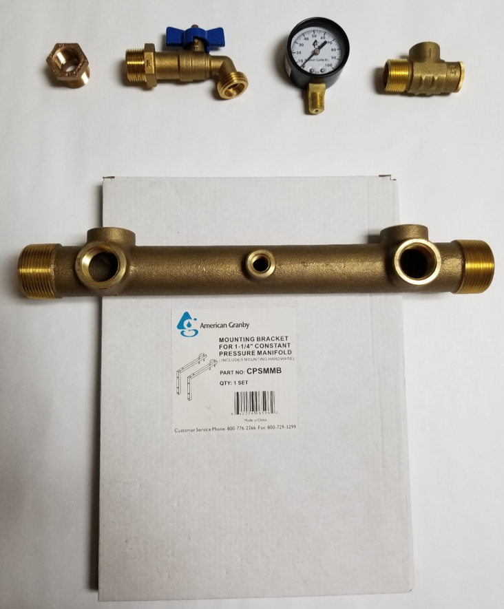 Constant pressure installation package